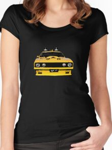 Mad Max pursuit car Women's Fitted Scoop T-Shirt