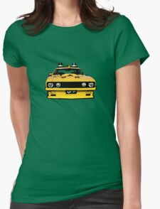 Mad Max pursuit car Womens Fitted T-Shirt