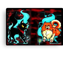 Sissel and Missile Canvas Print
