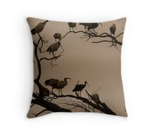 Night Roost Throw Pillow