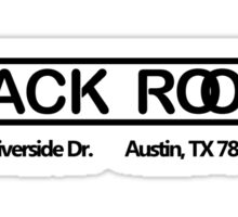 The Back Room (Austin, Texas) Sticker