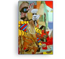 The Busted Easel with Elvis. Canvas Print