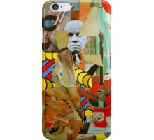 The Busted Easel with Elvis. iPhone Case/Skin