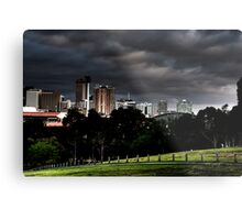 Adelaide from Monefiore Hill lookout. Metal Print
