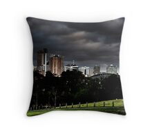 Adelaide from Monefiore Hill lookout. Throw Pillow
