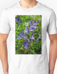 Bluebells in Gamlingay Wood Unisex T-Shirt