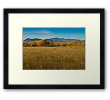 Dawn Color Framed Print