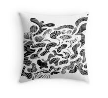 ZigZag ! Throw Pillow