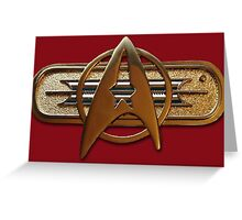 Star Trek: The Wrath of Khan insignia Greeting Card