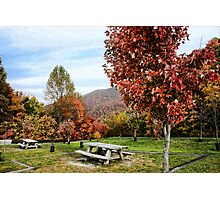 Cherohala Skyway Rest Stop Photographic Print