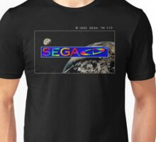 Sega CD Start Screen Unisex T-Shirt
