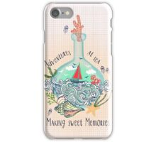 Bottle ship iPhone Case/Skin