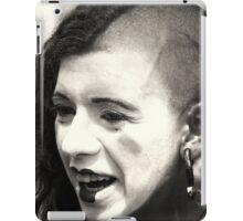 Laughing Punk Girl iPad Case/Skin