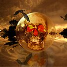 Halloween Moonrise by Sherrianne Talon