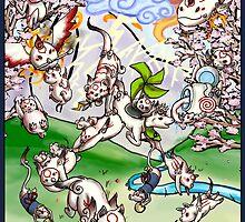 Okamiden Gods by Mirrankei