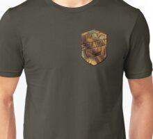 Custom Dredd Badge - Salmon Unisex T-Shirt