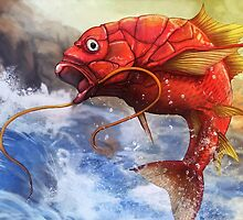 Magikarp used Splash by Ruth Taylor
