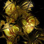 Golden Labyrinthine by Carolyn Staut