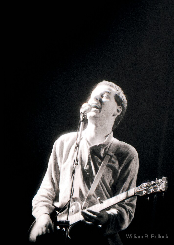 XTC - Andy Partridge by William R. Bullock