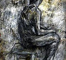 woman sitting by blissa