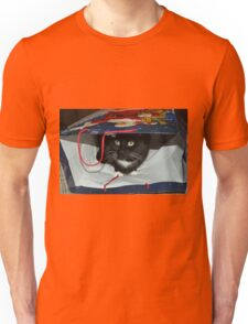 Kitty In a Bag Unisex T-Shirt