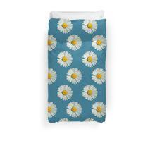 Two white daisies Duvet Cover