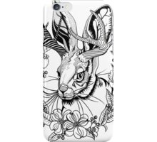 The Majestic Jackalope iPhone Case/Skin