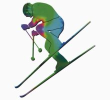 Tie-Dye Skier 2 Kids Clothes