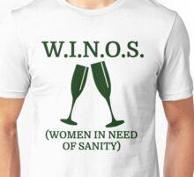 w i n o s women in need of sanity Unisex T-Shirt
