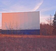 Screen - Echo Drive In by Steven Godfrey