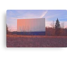 Screen - Echo Drive In Canvas Print