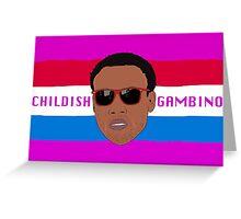 Childish Gambino / Donald Glover Greeting Card