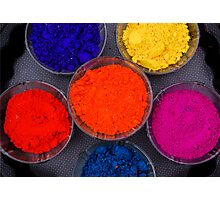 Festival Of Colors Photographic Print