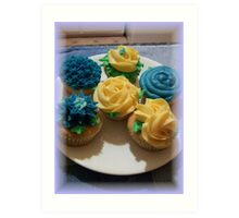 Cup cakes Art Print