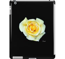 Inspired by Nature: Yellow Rose iPad Case/Skin