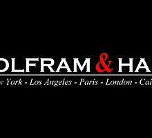 Wolfram & Hart by rosiescoffee