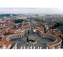 The Vatican Colonnade  Photographic Print