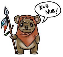 Ewok.... Nub Nub by WarpZoneGraphic