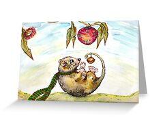 Jingle Possum Bells Greeting Card
