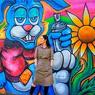 Sarah and the Rabbit in HDR by Elana Bailey