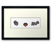 Pixel Squirrels Framed Print
