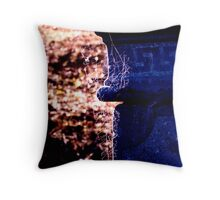 Something is waiting in the Cemetery for you Throw Pillow