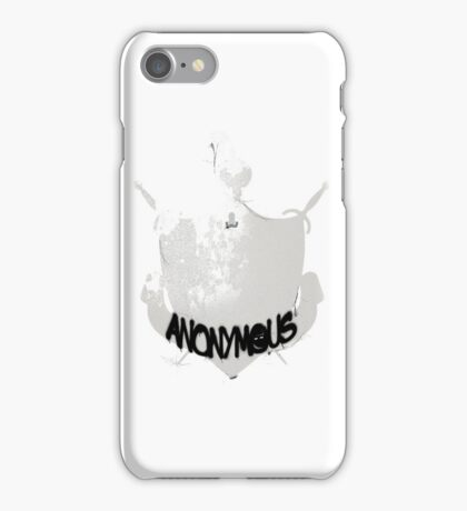 Anonymous Burglars  iPhone Case/Skin