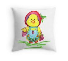 Christmas Chickee Throw Pillow