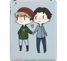Red Beanies and Gay Babes iPad Case/Skin