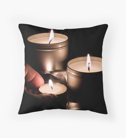 Subtle Introduction Throw Pillow