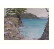 Pa Beach Art Print
