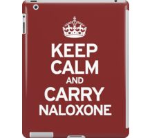 Carry Naloxone iPad Case/Skin