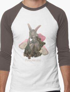 White Rabbit Men's Baseball ¾ T-Shirt