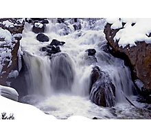 Winter River Photographic Print